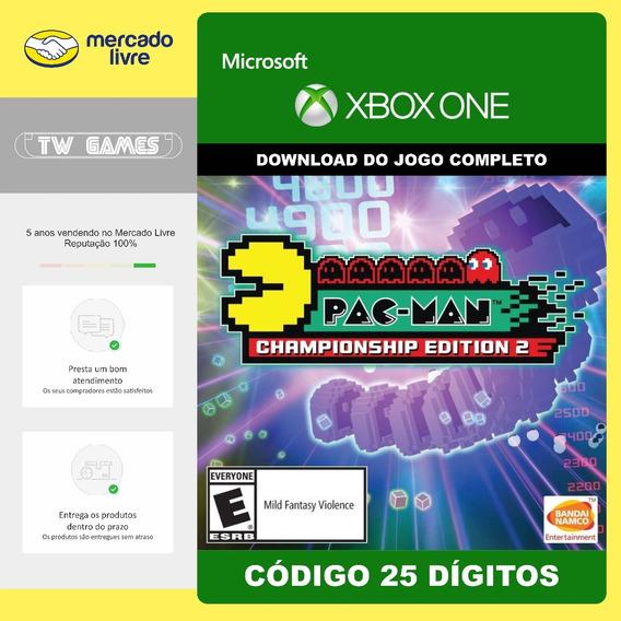 Pac-man Championship Edition 2 Codigo 25 Digitos Xbox One
