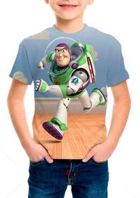 Camiseta Infantil Filme Toy Story Buzz Lightyear - M001