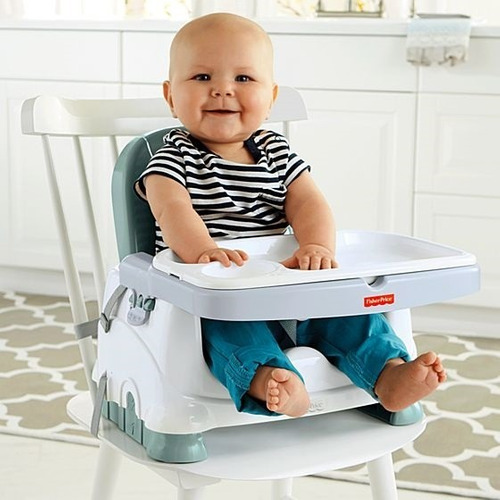 Fisher-price Healthy Deluxe Booster Silla Comedor Bebe