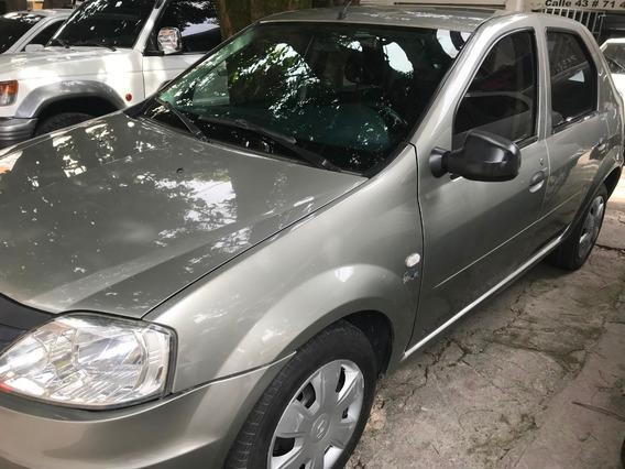 Renault Logan Familier 1400 C.c 2014 Gris Exc Estado