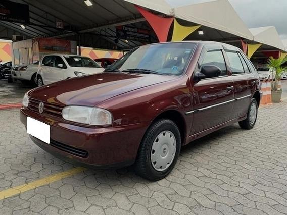Volkswagen Gol Cl 1.6 Mi Vermelho 8v Gasolina 4p Manual 1999
