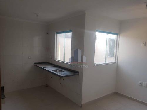 Cobertura Com 2 Dormitórios À Venda, 100 M² Por R$ 300.000,00 - Jardim Ana Maria - Santo André/sp - Co0111
