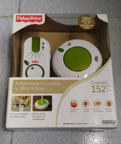 Monitor Luces Y Sonidos Fisher-price.
