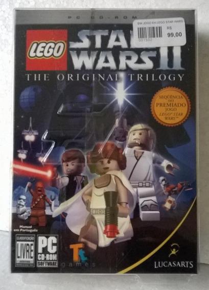 Lacrado Lego Star Wars 2 Original Trilogy Novo Blister Raro