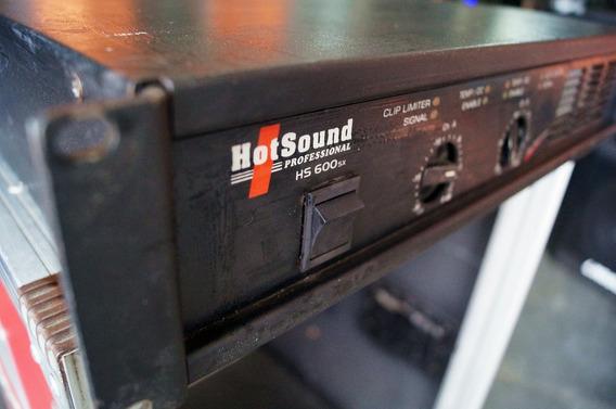 Potencia Hotsound Hs600sx - Melhor Oferta Do Mercado