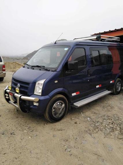 Minivan Dfsk C37, Gasolina-glp Azul Motor 1500cc 4 Cilindros
