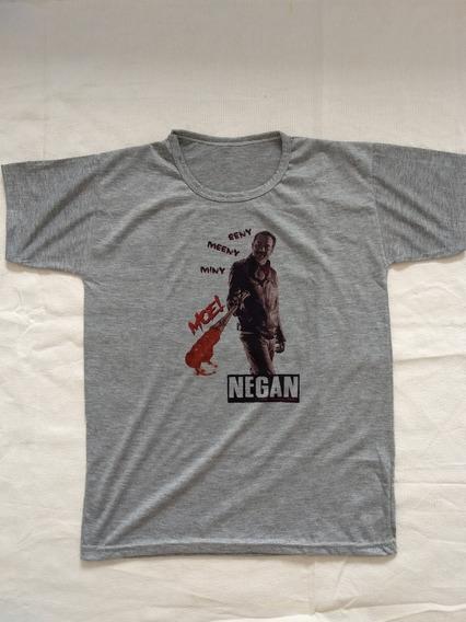 Remera Negan The Walking Dead- Oferta Talle S Recta
