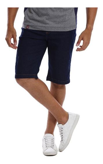 Bermuda Jeans Masculina Slim Com Lycra - Preço De Atacado