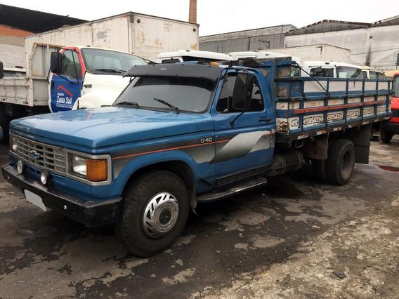 Chevrolet D40 Carroceria De Madeira 85/86