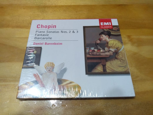Chopin. Piano Sonatas. Fantasie - Barenboim - Cd - Nuevo
