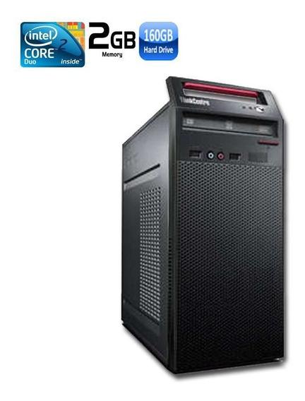 Pc Lenovo A70 Intel Core 2 Duo 2gb Hd 160gb