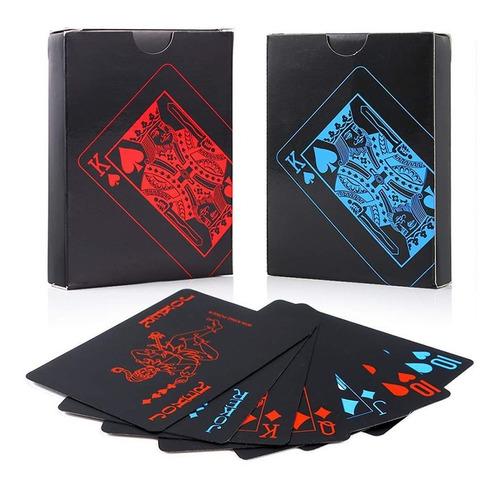 2 Barajas Cartas Poker 100% Plásticas Resistentes Al Agua