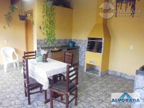 Imagem 1 de 14 de Sobrado Residencial À Venda, Cidade Morumbi, São José Dos Campos - So1134. - So1134