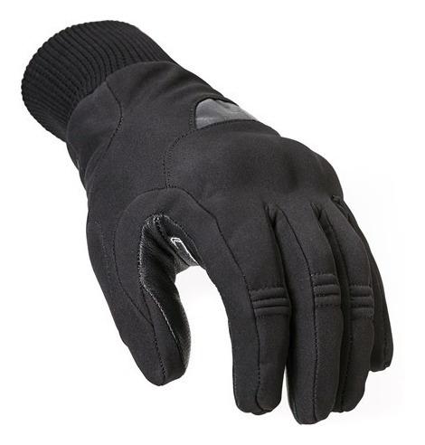 Guantes Cortos Ls2 Softshell Con Protecciones Moto Yuhmak
