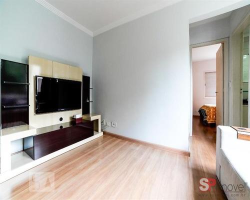 Imagem 1 de 9 de Apartamento Mobiliado E Recém Reformado. Pronto Para Morar. Inclui Tv, Sofá, Geladeira, Rack, Armários E Camas. 02 Dormitório(s)01 Vaga(s) - Ml119 - 69623666