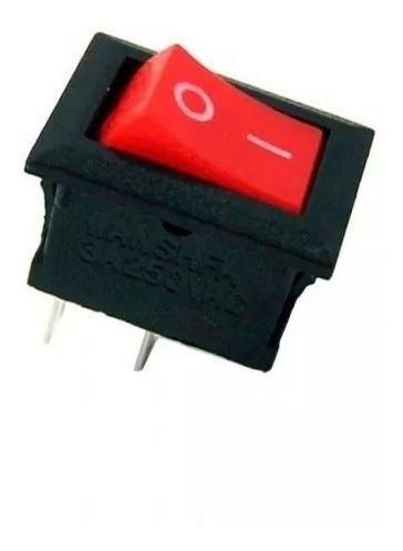 Botão Chave Interruptor Mini Liga Desliga On Off 30 Peças