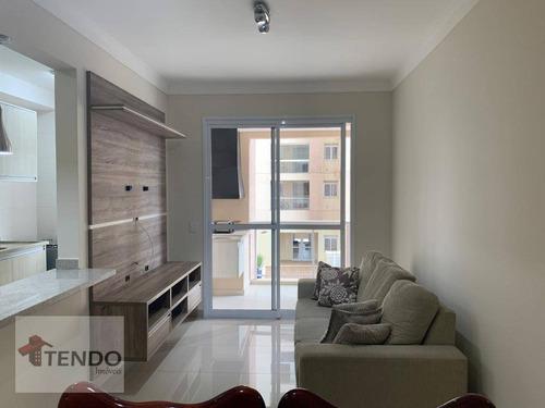 Apartamento 90 M² - Alugar - 3 Dormitórios - 2 Suítes - Bairro Pau Preto - Indaiatuba/sp - Ap2393
