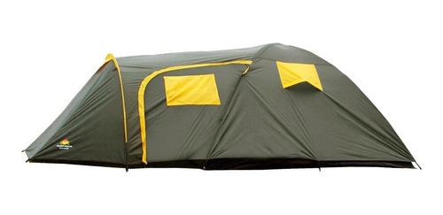 Barraca Camping Zeus 5 Pessoas 210 X 210 X 145 Cm - Guepardo