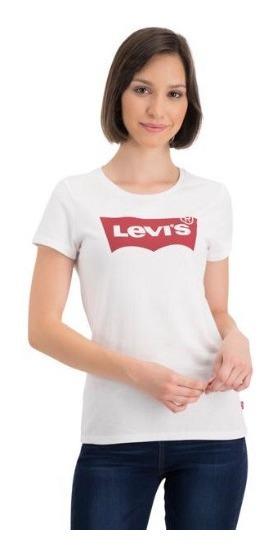 Levis Mujer Playera Blanca