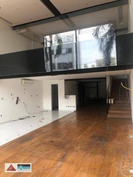 Prédio Para Alugar, 384 M² Por R$ 28.000,00/mês - Jardim Anália Franco - São Paulo/sp - Pr0042