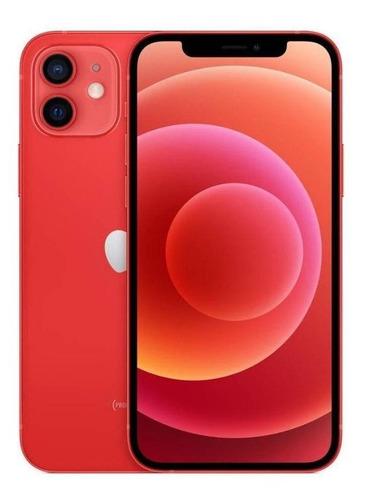 Celular Smartphone Apple iPhone 12 64gb Vermelho - Dual Chip