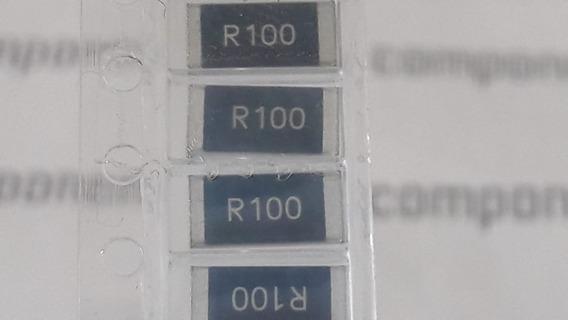Resistor R100 - 0,100r 1w 1% - 0r10 - 0,1 Ohm Smd 2512