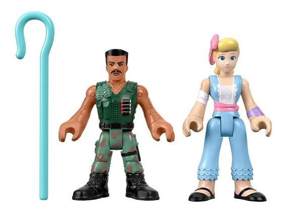 Imaginext Toy Story 4 Betty E Combate Carl Original Mattel