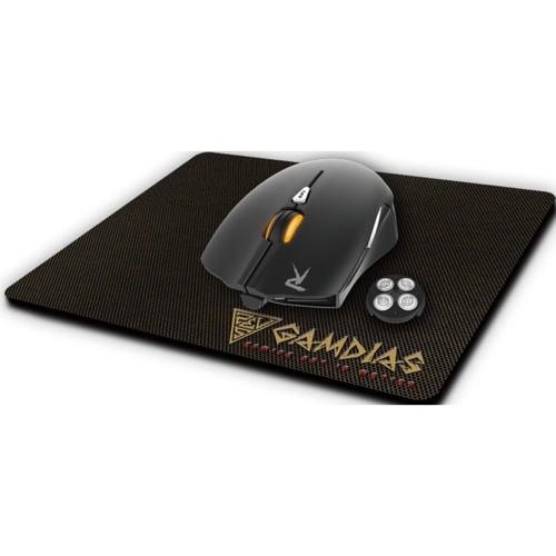 Mouse Gamer Gamdias Ourea E1 4000 Dpi + Mouse Pad