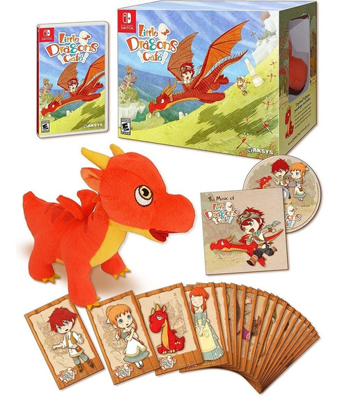 Little Dragons Cafe Limited Edition Switch Mídia Física