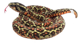 Cobra De Pelúcia 1,80 Mts Antialérgico Lavável