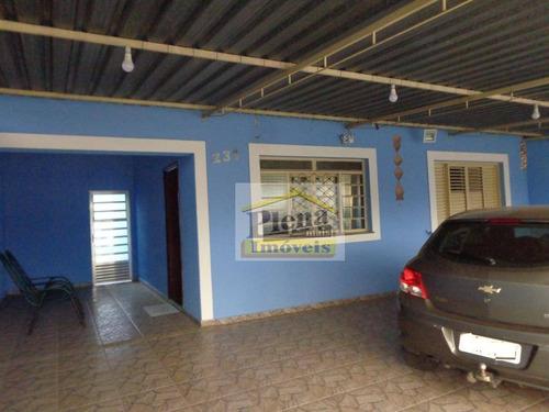 Casa Com 2 Dormitórios À Venda, 100 M² - Jardim Marchissolo - Sumaré/sp - Ca4077