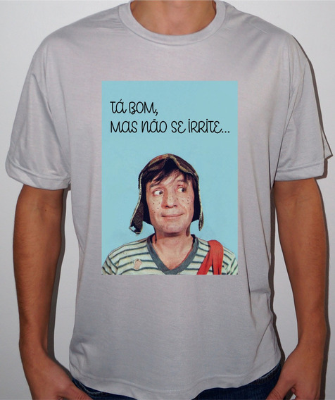 Camiseta Ou Baby Look Chaves 04