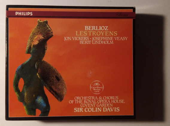 H Berlioz Box Imp 4 Cds Les Troyens 1970 Colin Davis Philips
