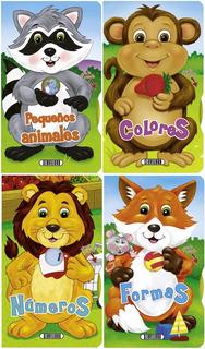 Libros Infantiles. Col. Crece Y Aprende. X 4 Unidades