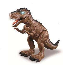 Brinquedo Infantil Dinossauro Tiranossauro Rex Som E Luz