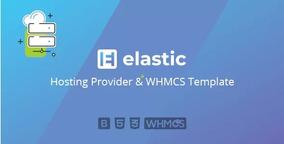 Tema Hospedagem De Site Elastic + Template Whmcs