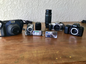 Câmeras Fotográficas E Filmadoras Para Retirada De Peças