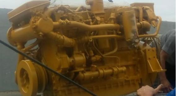 Motor Caterpillar Marítimo 3126 420hp