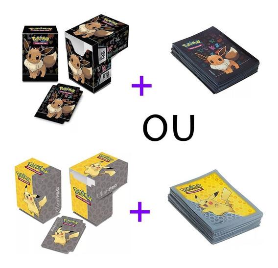 Kit Deck Box E Sleeve - Pikachu