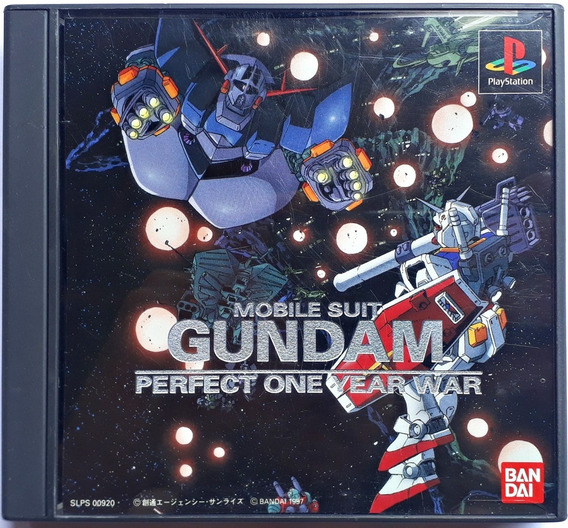Jogo Mobile Suit Gundam Perfect One Year War Playstation Jap