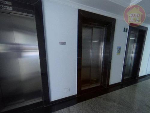 Apartamento Com 2 Dormitórios À Venda, 101 M² Por R$ 532.000 - Vila Assunção - Praia Grande/sp - Ap5074
