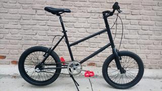 Bicicleta Mini Velo Fad Rodado 20 Cambios Internos Nexus 3v