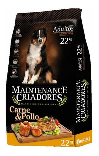 Alimento Maintenance Criadores para perro adulto sabor carne/pollo en bolsa de 22kg