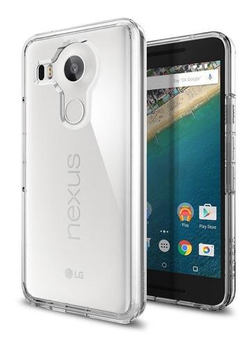 Case Spigen Ultra Hybrid Nexus 5x Transparente Policarbonato