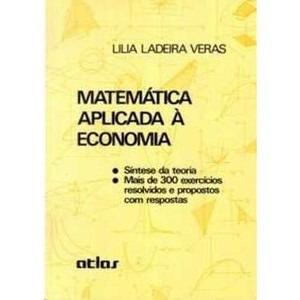 Matemática Aplicada À Economia