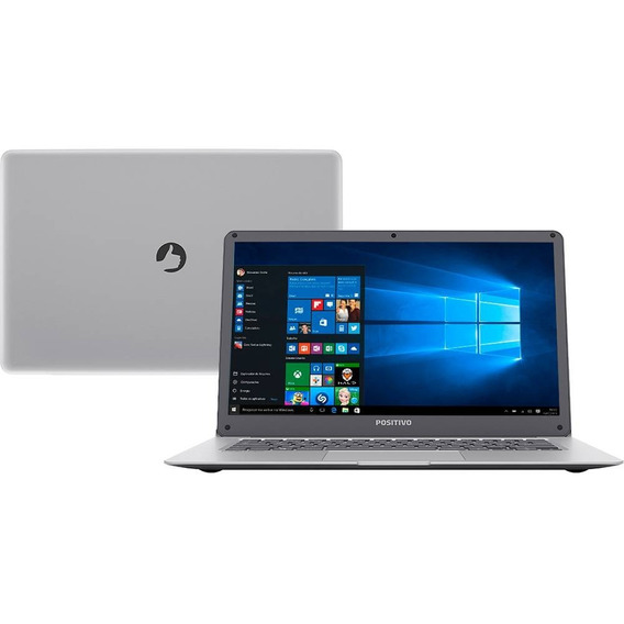 Notebook Positivo Motion Q232a, Intel Atom Quad Core, 2gb,