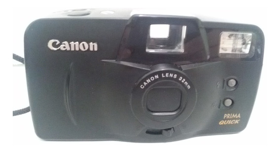 Câmera Fotográfica Canon Prima Quick - Maquina Antiga
