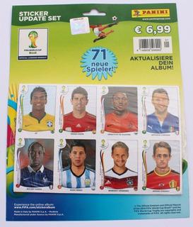 Encarte 71 Figurinhas Atualização Álbum Copa 2014 Panini