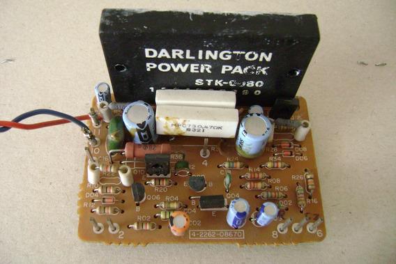 Placa Amplificador Stk-0080 Funcionando .