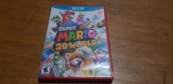 Super Mario 3d World Original Nintendo Wiiu